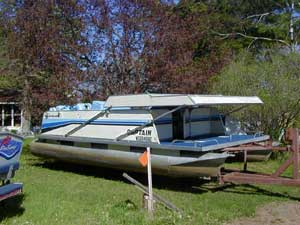 Tips For Docking Your Pontoon by Roy F  Brown